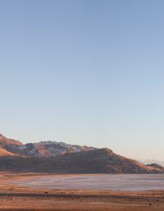 Mountain, Antelope Island, Salt Lake City, Utah